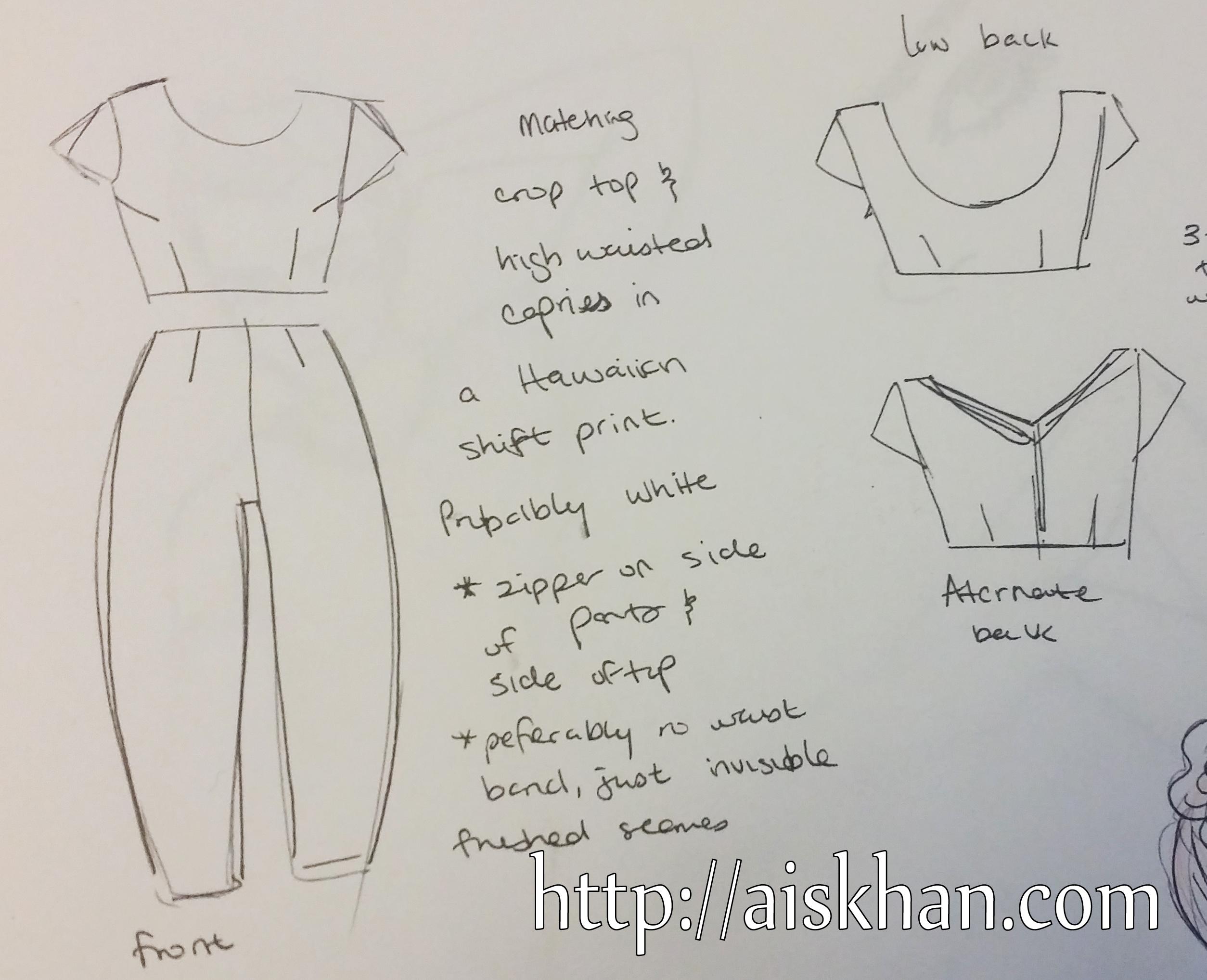Sewing & Patterns – Ayesha Khan
