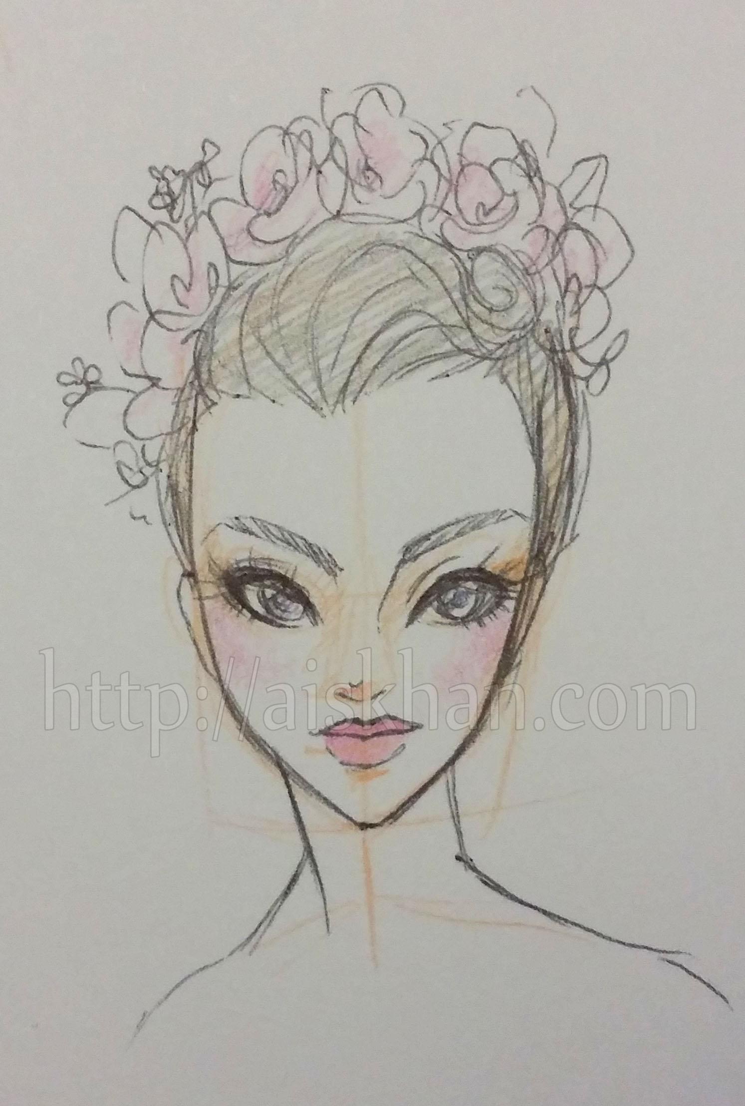 Flower Crown Ayesha Khan